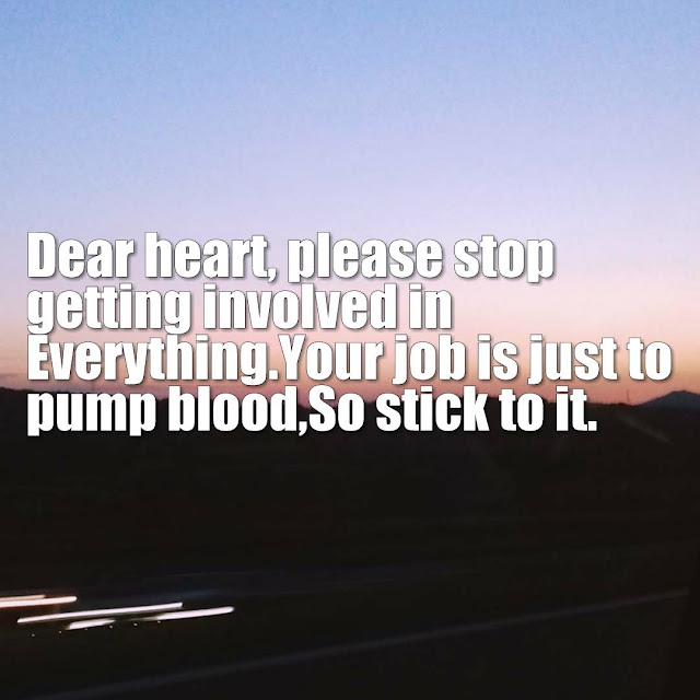 Dear Heart Sad Quotes about Love