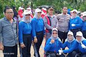 Wali Nagari Batu Hampar Kec Koto XI Tarusan Membuka Turnamen Dan Gerak Jalan Tahun 2020