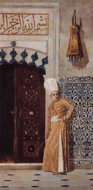 Василий Васильевич Верещагин - Евнух у дверей гарема. 1870-е