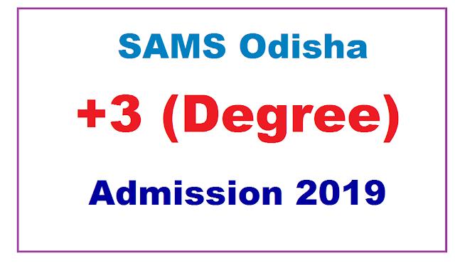 Odisha Degree admission 2019