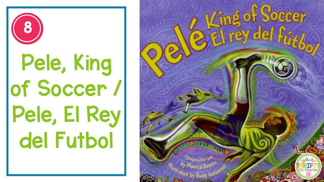 Sharing read alouds with your upper elementary students is a great Hispanic Heritage Month activity.