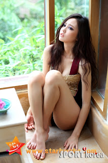 Oh Cho Hee Korean Sexy Model Hot Swimsuit 5