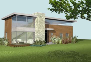 Como reconocer una fachada minimalista proyectos de casas for Casa minimalista economica