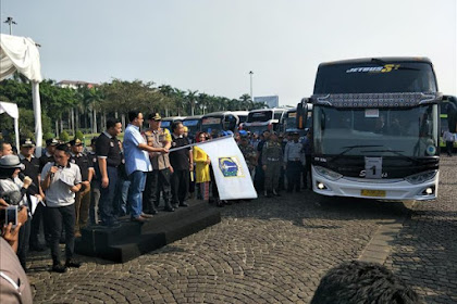 Usai Fasilitasi Warganya Mudik, Pemprov DKI Kembali Siapkan 222 Bus Angkutan Balik