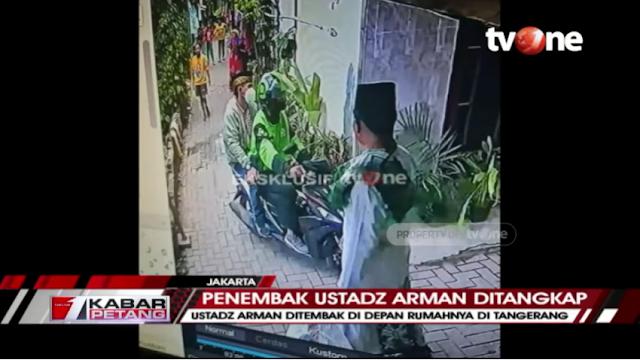 Polisi Tangkap Tiga Pelaku Penembakan Ustaz di Tangerang, Ngaku Dibayar Rp50 Juta