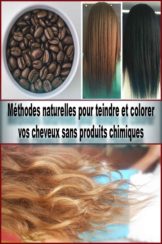 8 Méthodes naturelles pour teindre et colorer vos cheveux sans produits chimiques