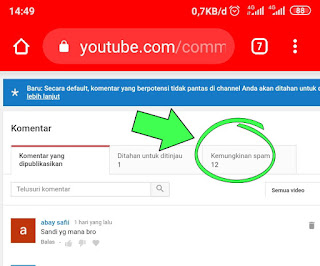 Apakah komentar spam di YouTube Berbahaya?