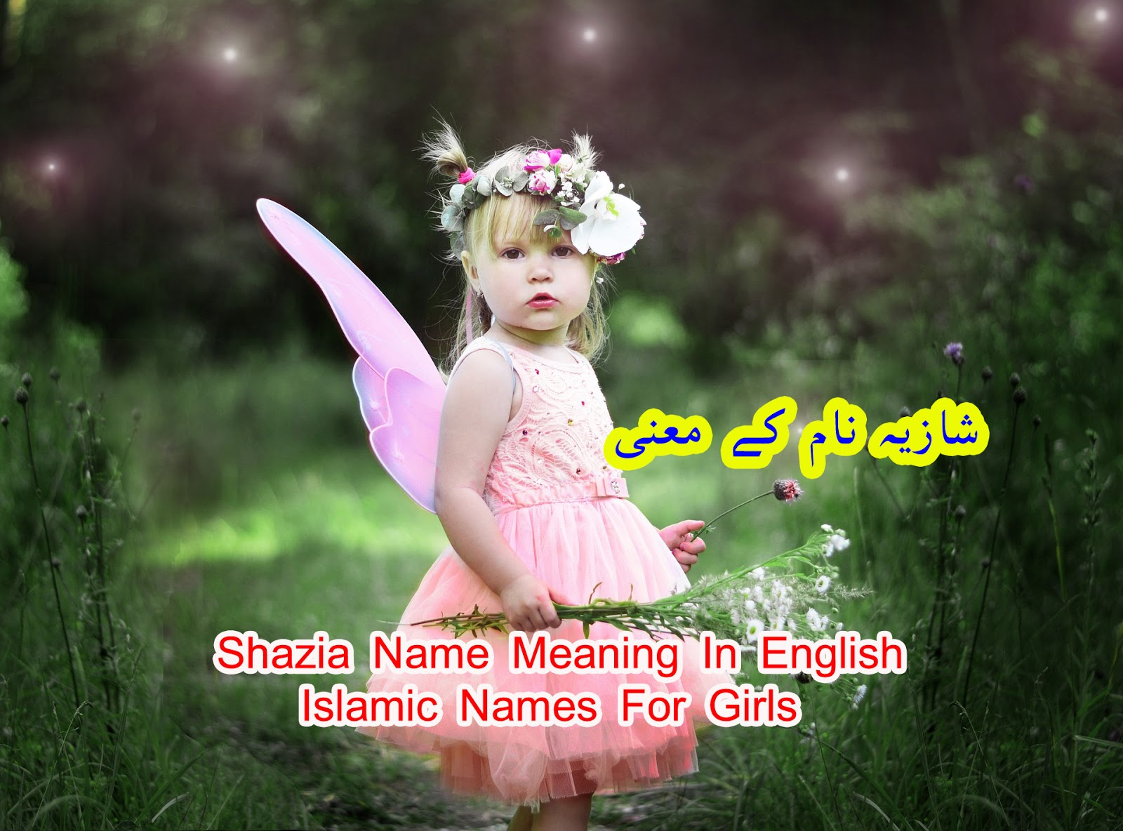 Shazia Name Meaning In English || Islamic Names For Girls
