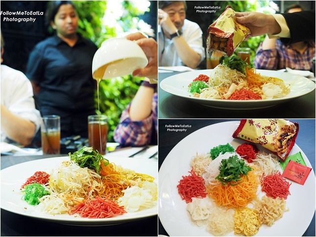 Chinese New Year meal to enjoy yee sang and loh hei