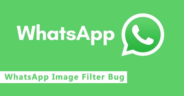 WhatsApp Image Filter Bug