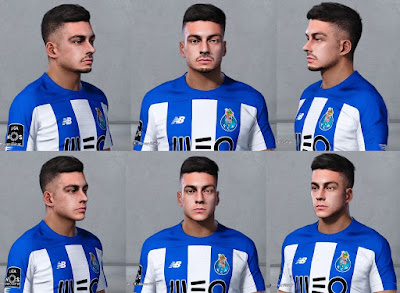 PES 2020 Faces Diogo Leite by Christian Jr Facemaker