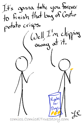 Chip away at that bag of chips