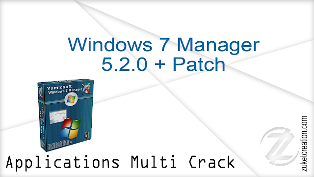 Windows 7 Manager 5.2.0 + Patch   |   12 MB