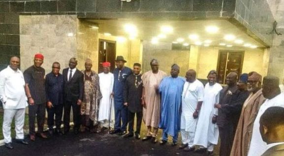 Image result for Southern Governors meet in lagos
