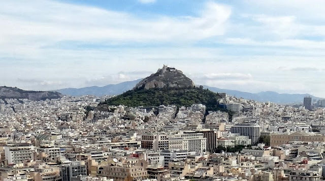 Mount Lycabettus Athens Greece