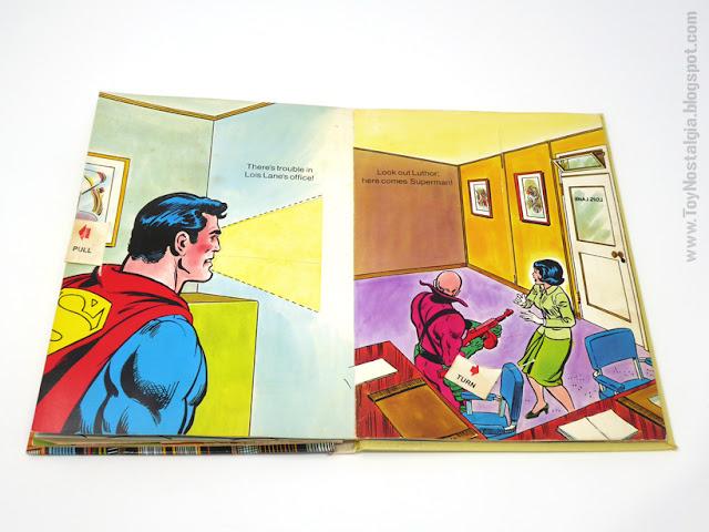 SUPERMAN - a Pop UP book  1979 - Random House  Ib Penick