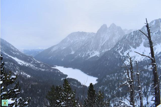 Mirador de l'Estany en invierno, Parc Nacional d'Aigüestortes