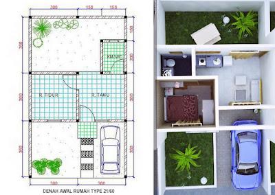 Rumah Tipe 21