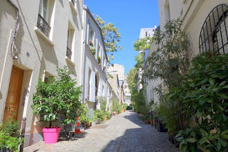 Paris : Cité du Midi, Montmartre aux couleurs de la Méditerranée - 48 boulevard de Clichy - XVIIIème
