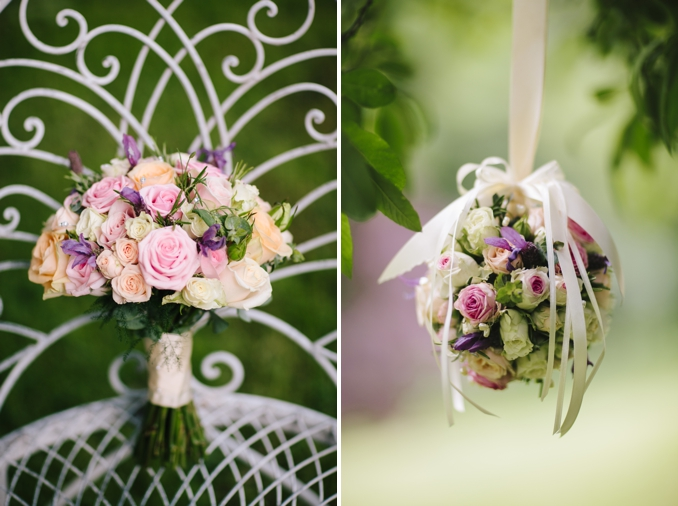 Gorgeous pastel wedding flowers - photos by STUDIO 1208