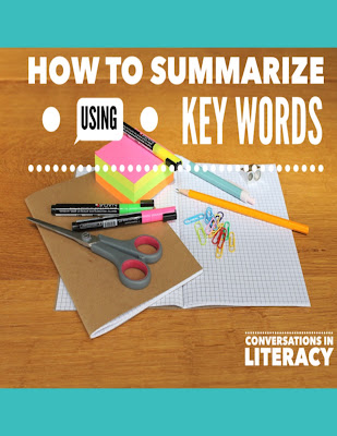 Using Key Words to Write a Summary