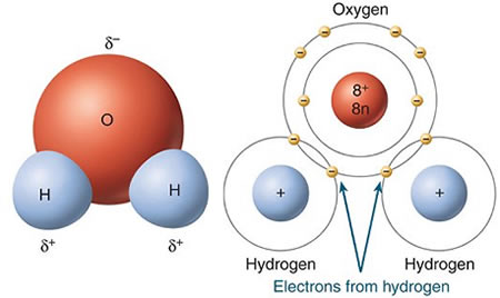 Water World: Chemistry of Water H2o Water Molecule
