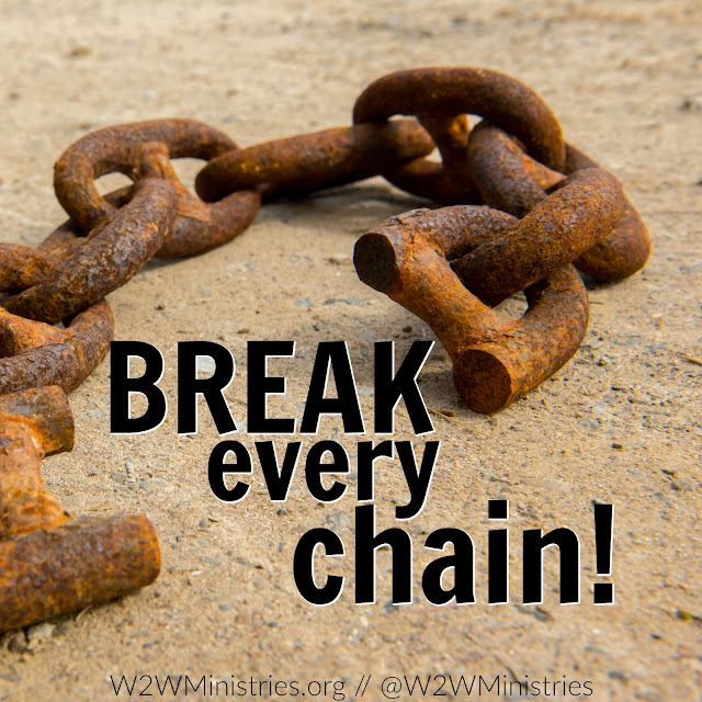God has the power to break every chain.