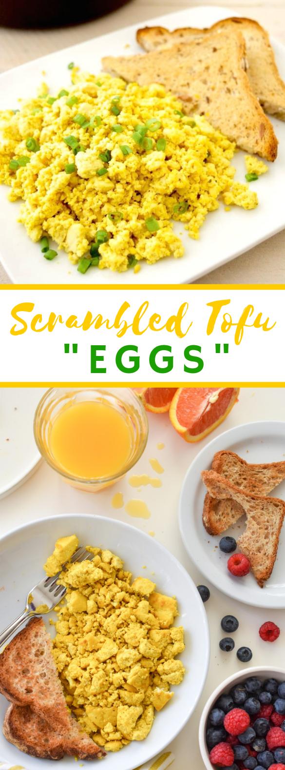 TOFU SCRAMBLED EGGS #vegetarian #breakfast