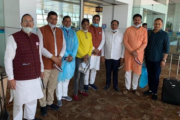 vipul-goel-and-sohanpal-chhokar-departed-faridabad-to-assam-election