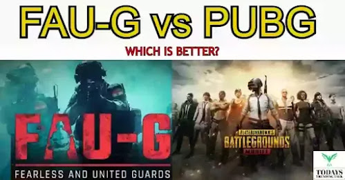 Faug vs Pubg | FAU-G release date in India | full info