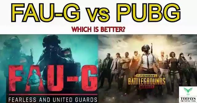 Faug vs Pubg | FAU-G release date in India | full info
