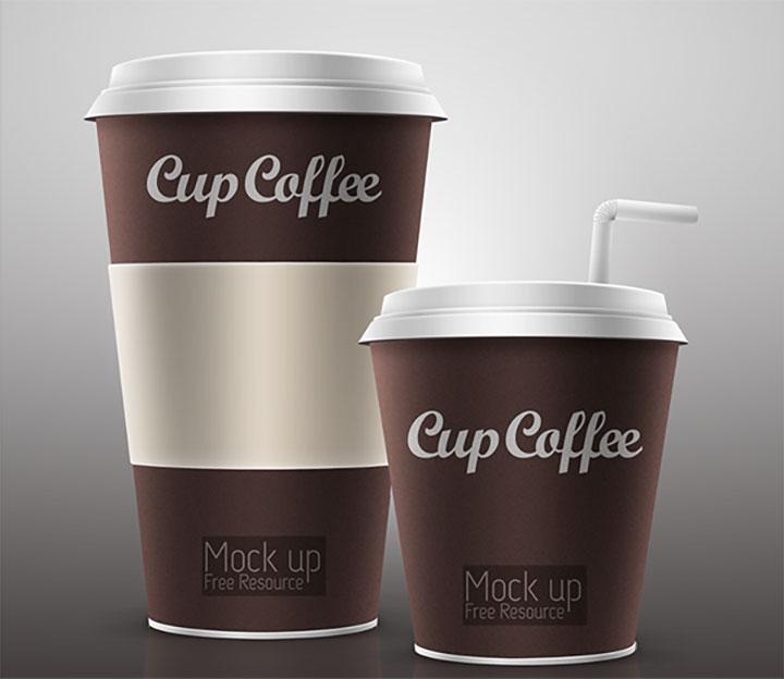 Cup Coffe Mockup