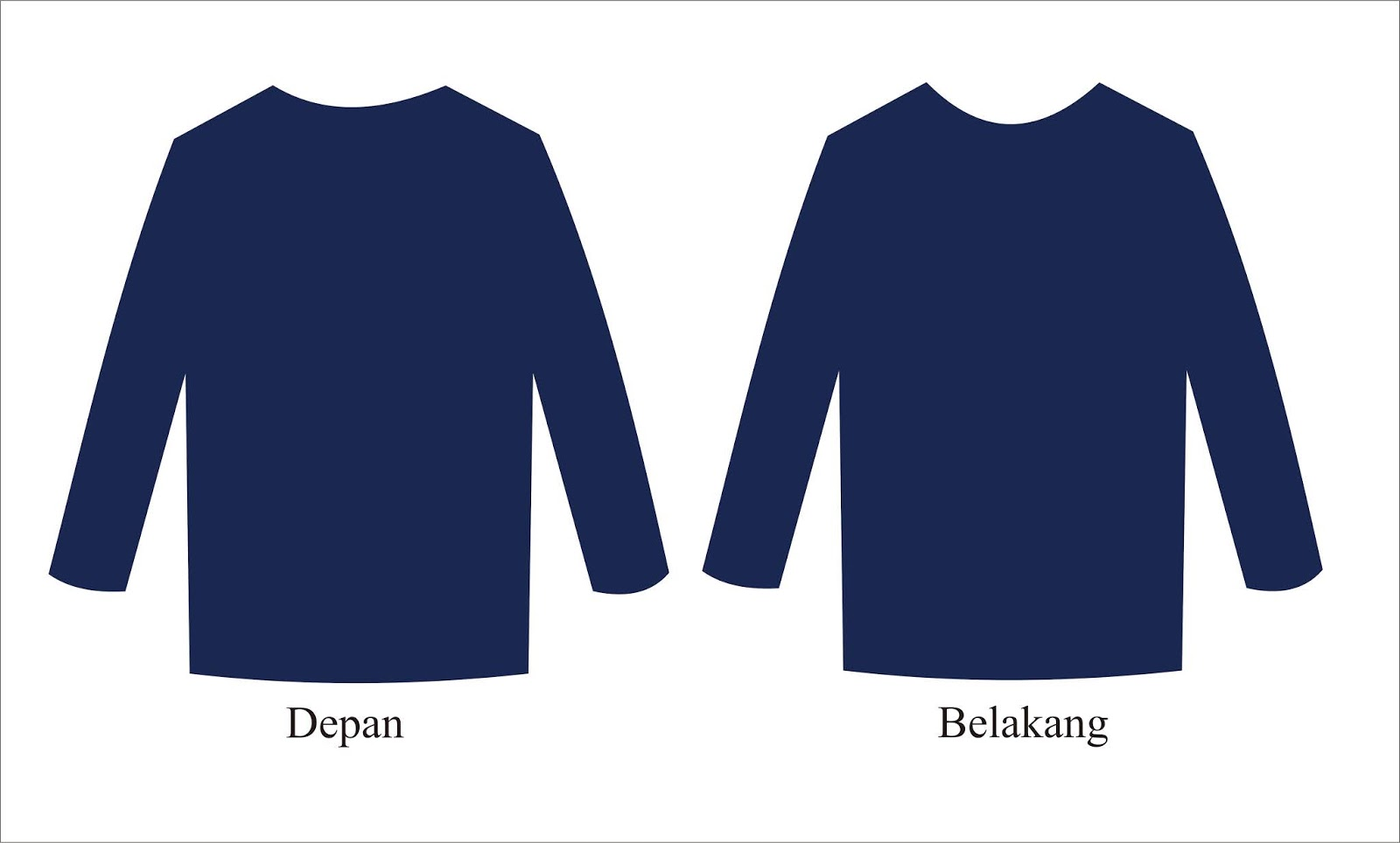 470+ Desain Baju Kaos Keren Depan Belakang HD Terbaik