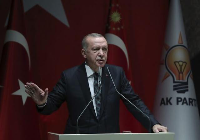 Ερντογάν: «Δεν υποχωρούμε από τη Συρία»