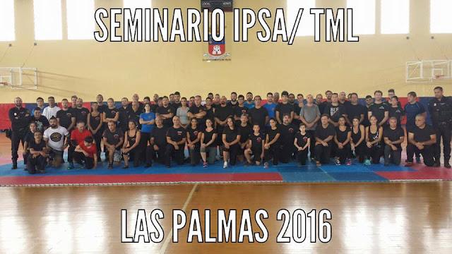SEMINARIO IPSA TML LAS PALMAS 2016 I.P.S.A.