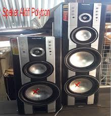 Memperbaiki Speaker Aktif Polytron XBR