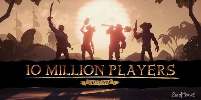 Sea of Thieves: Ξεπέρασε τους 10 εκατομμύρια παίχτες!!