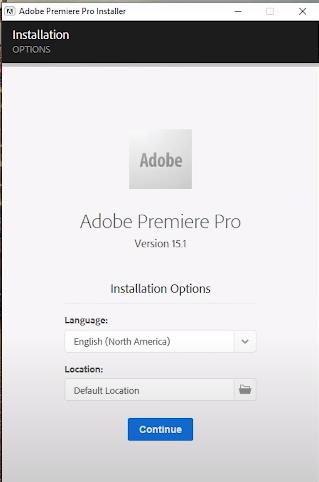 Hướng dẫn nhanh cách cài đặt phần mềm Adobe Premiere Pro CC 2021 15.4 a