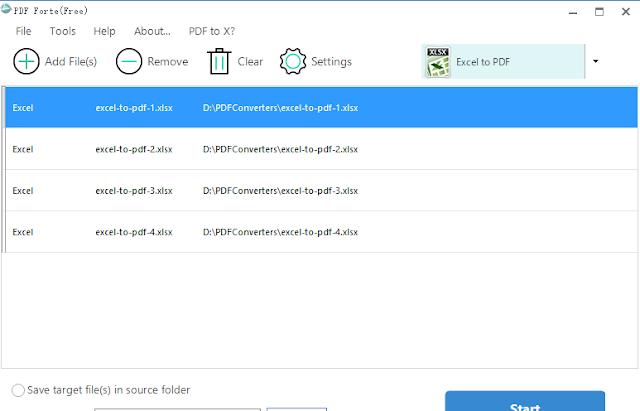 تحميل برنامج تحويل جميع ملفات PDF مجانا PDF Forte 2.6.6.1