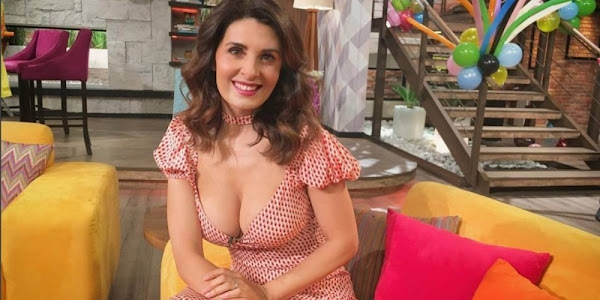 Mayrín Villanueva sorprende al aparecer embarazada a sus 52 años