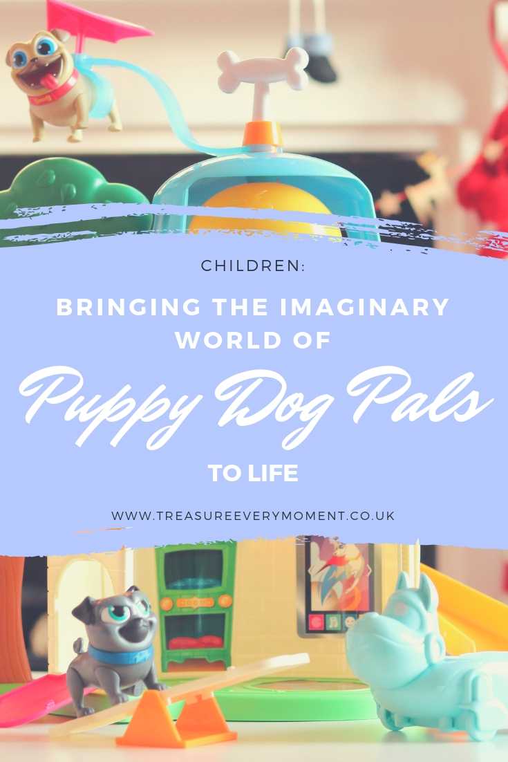 CHILDREN: Bringing the Imaginary World of Puppy Dog Pals to Life