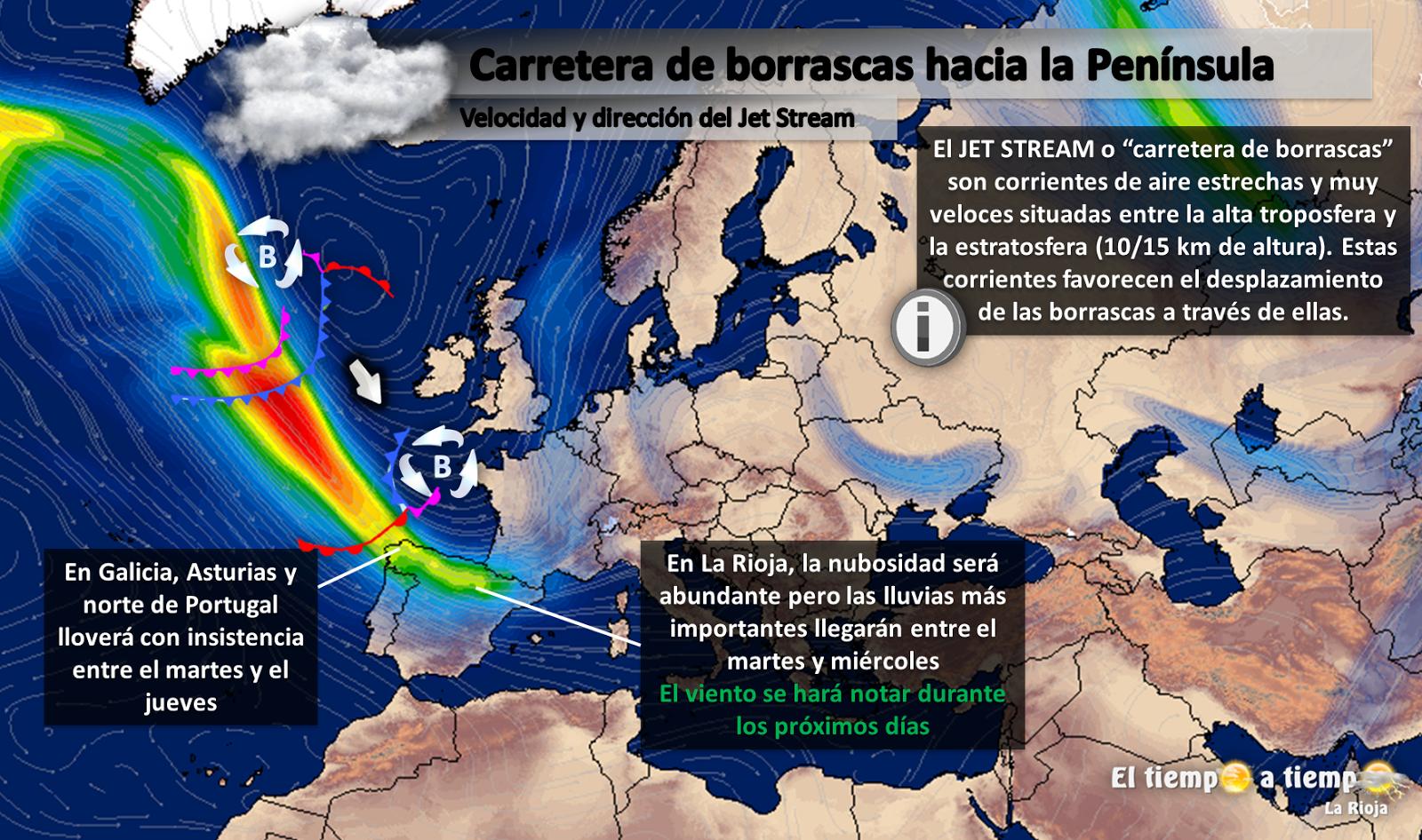 El Tiempo A Tiempo La Rioja Predicción Meteorológica Lunes 14 Al