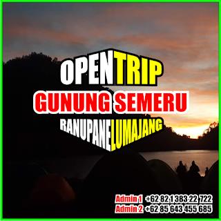 Open Trip Gunung Semeru 2021 Via Tumpang Malang - Ranupane Lumajang 4H3M