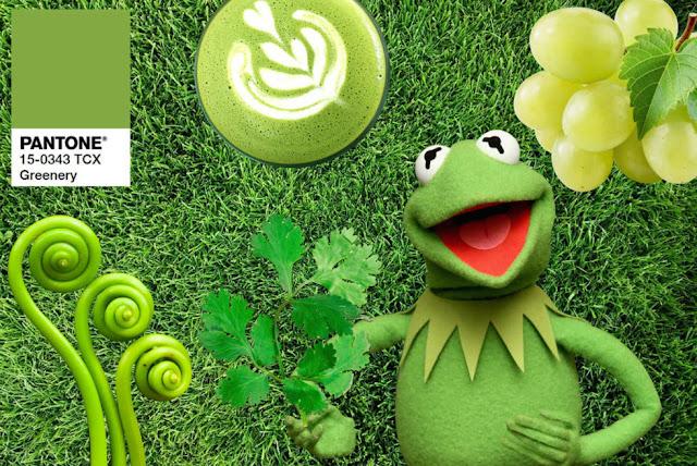 O verde mais falado de 2017: Greenery da Pantone - Look do dia