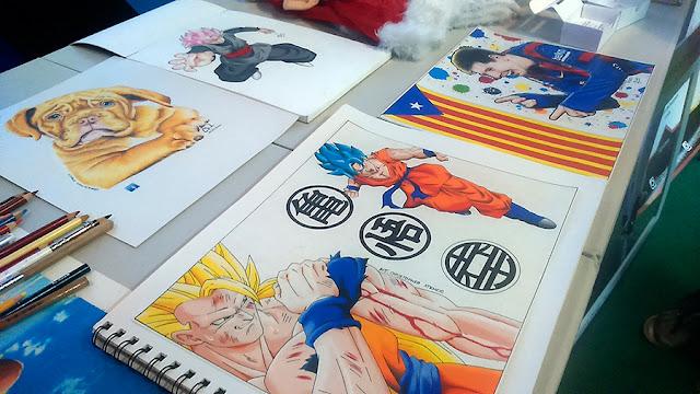 dibujos con lápices de colores