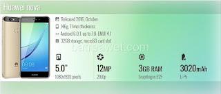 12. Huawei nova