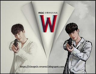 Sinopsis Drama Korea W Webtoon, W, Serial Korea, Lee Jong Suk