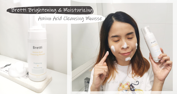 Bretti Brightening & Moisturizing Amino Acid Cleansing Mousse