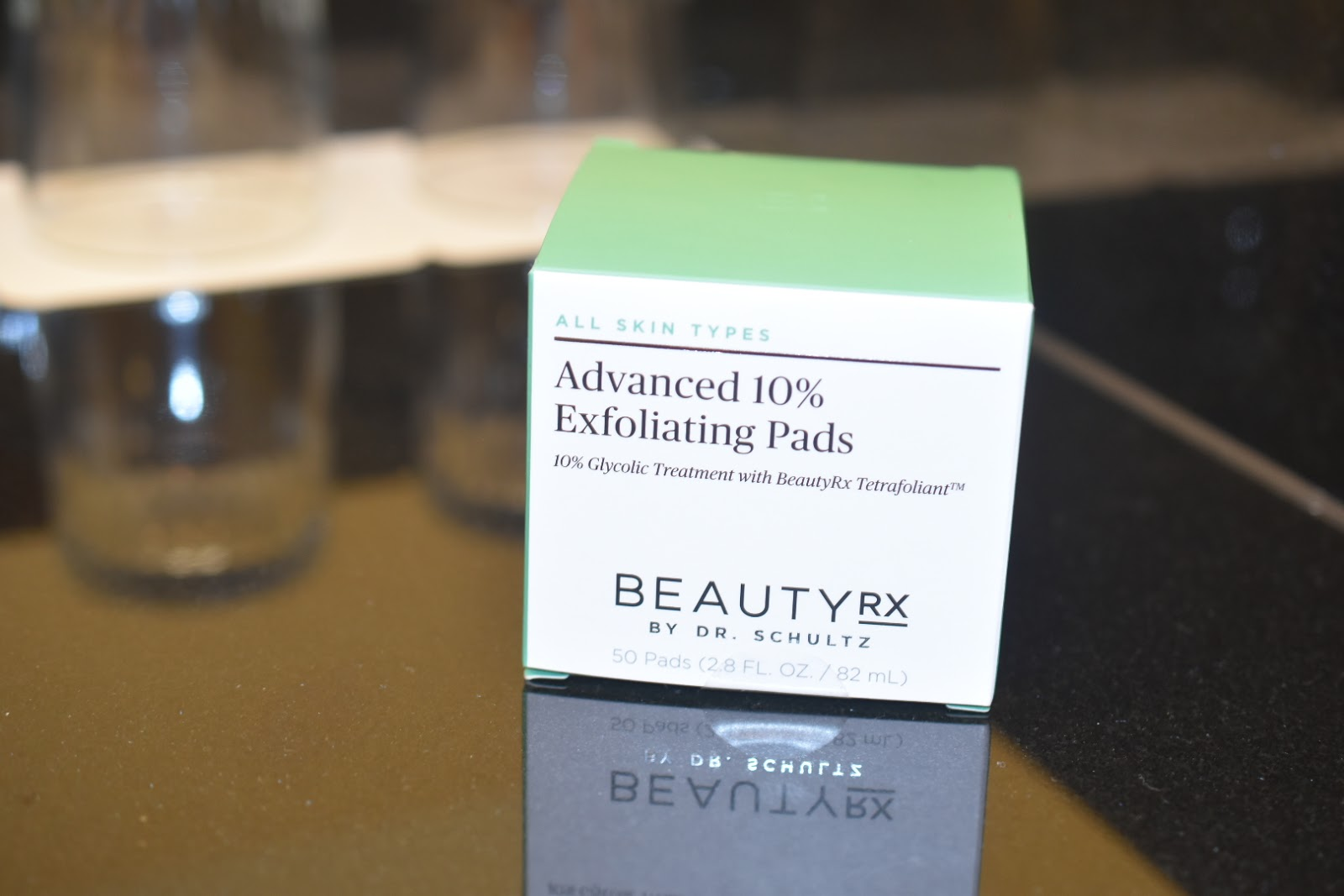 Removing Makeup that Facial Wash Left Behind: Advanced 10% Exfoliating Pads from BeautyRX by Dr. Schultz  via  www.productreviewmom.com