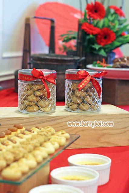 Chinese New Year Cookies E&O Hotel Penang Chinese New Year 2021 Penang Malaysia Blogger Influencer Penang Hotel Food